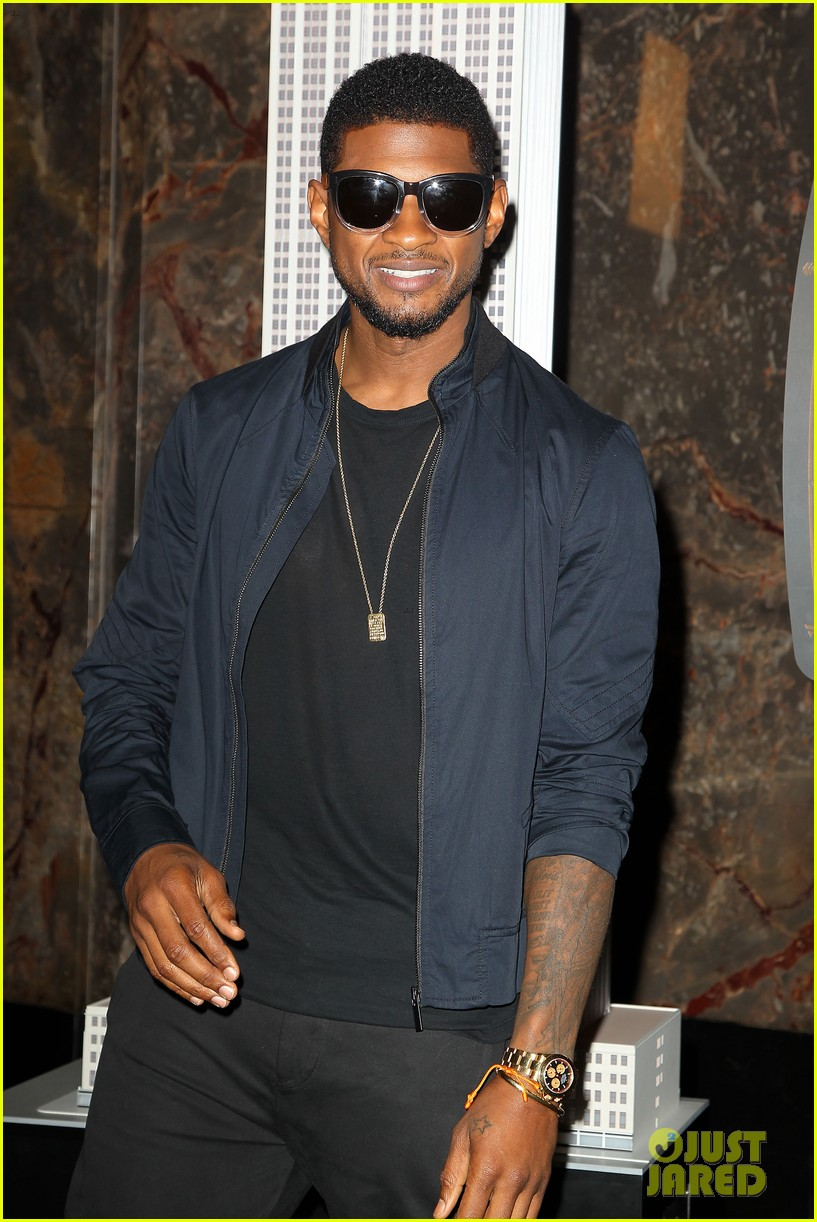 usher lights empire state building before 4th of july fireworks 12