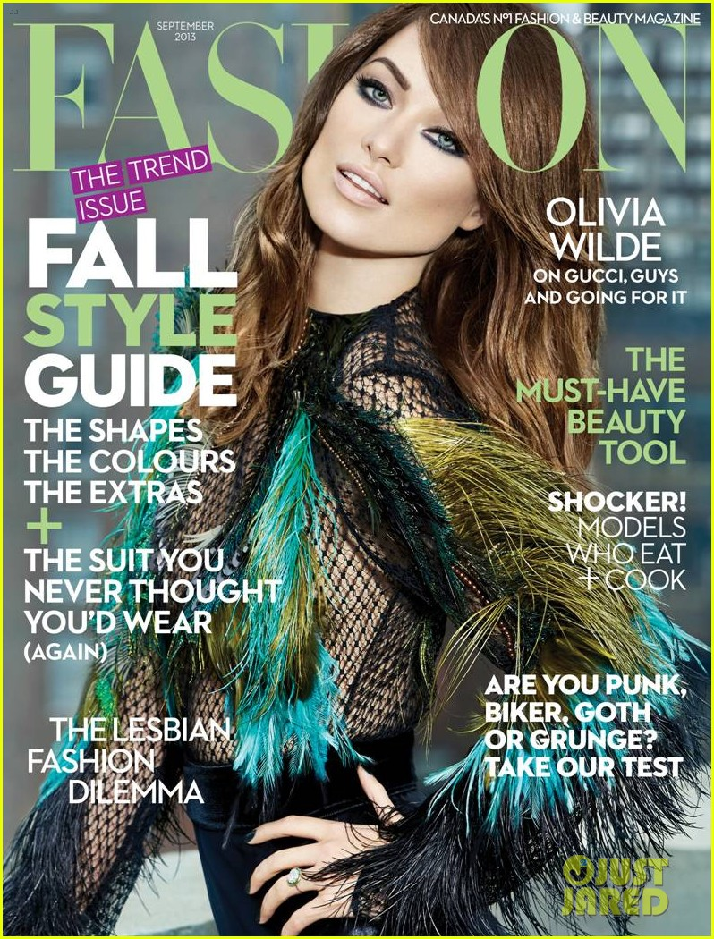 olivia wilde covers fashion magazine september 2013