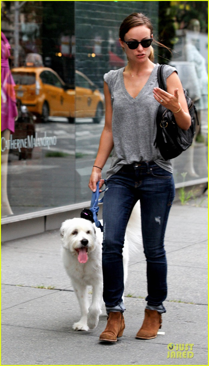 olivia wilde supports knicks jason sudeikis promotes were the millers 13