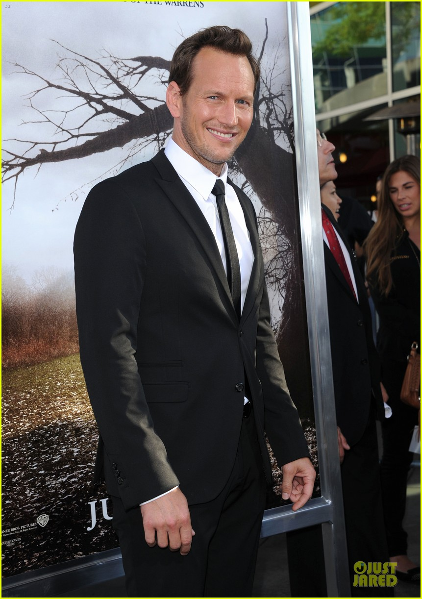 patrick wilson jackson rathbone the conjuring hollywood premiere 012910187