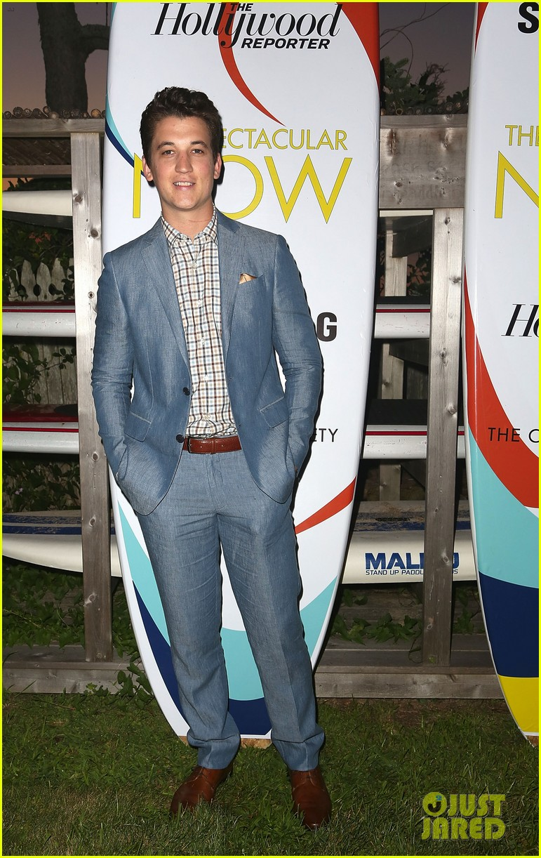 shailene woodley miles teller spectacular now hamptons screening 052917873