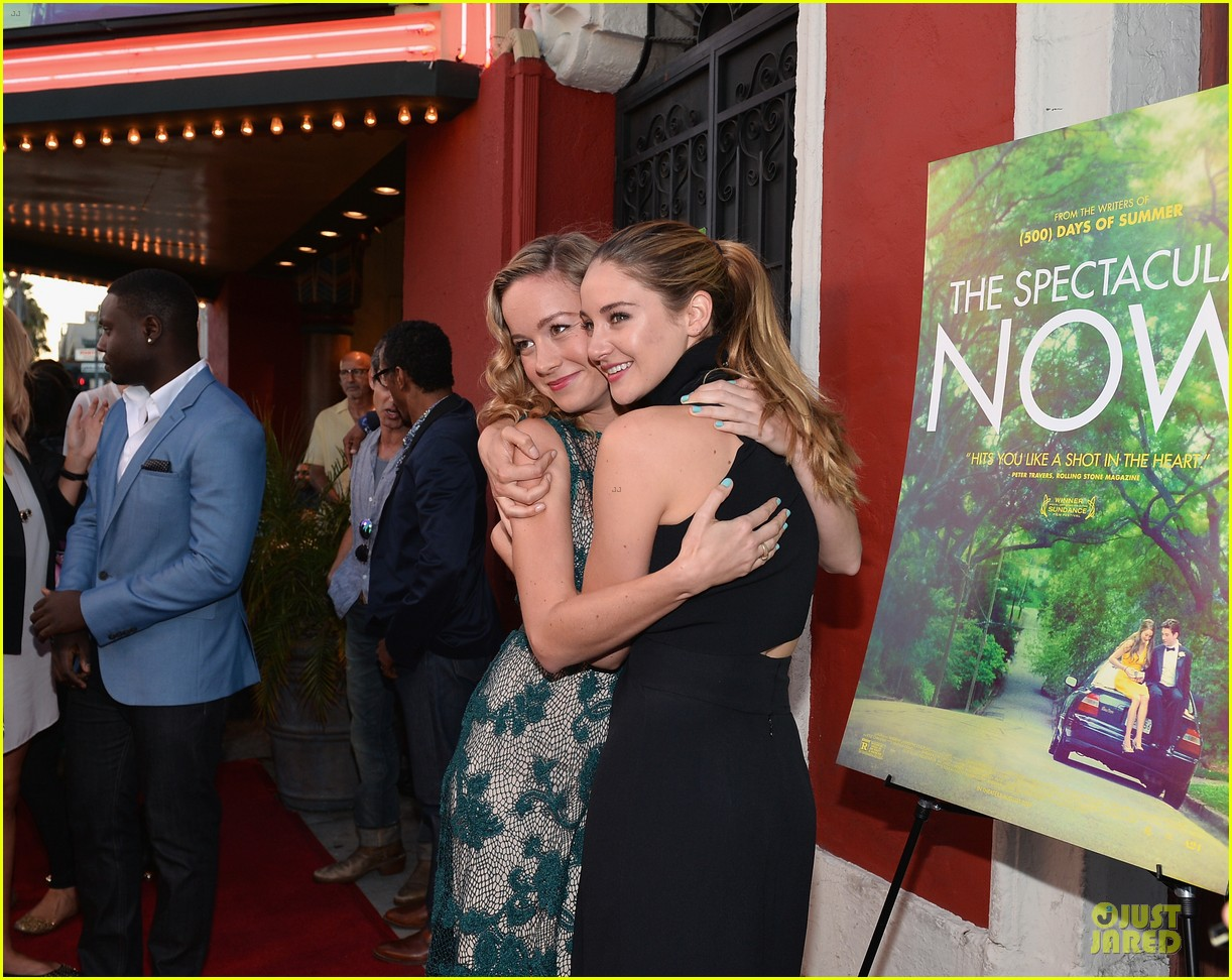 shailene woodley miles teller spectacular now la screening 08