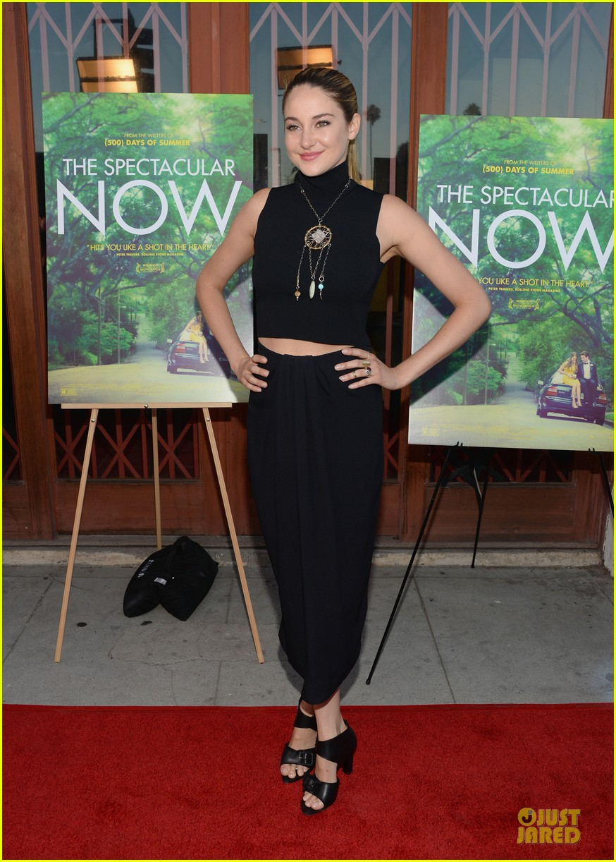 shailene woodley miles teller spectacular now la screening 16