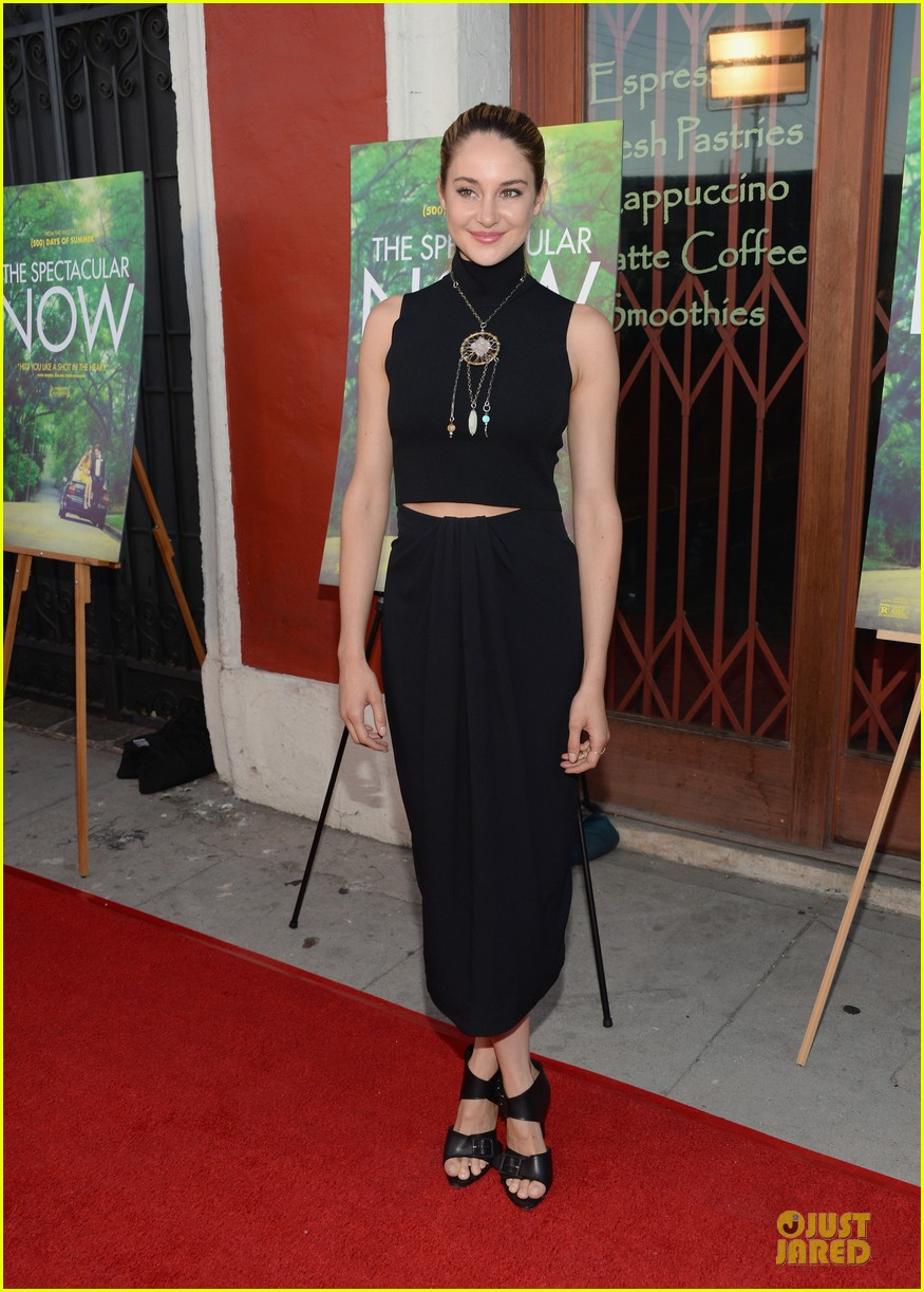shailene woodley miles teller spectacular now la screening 18