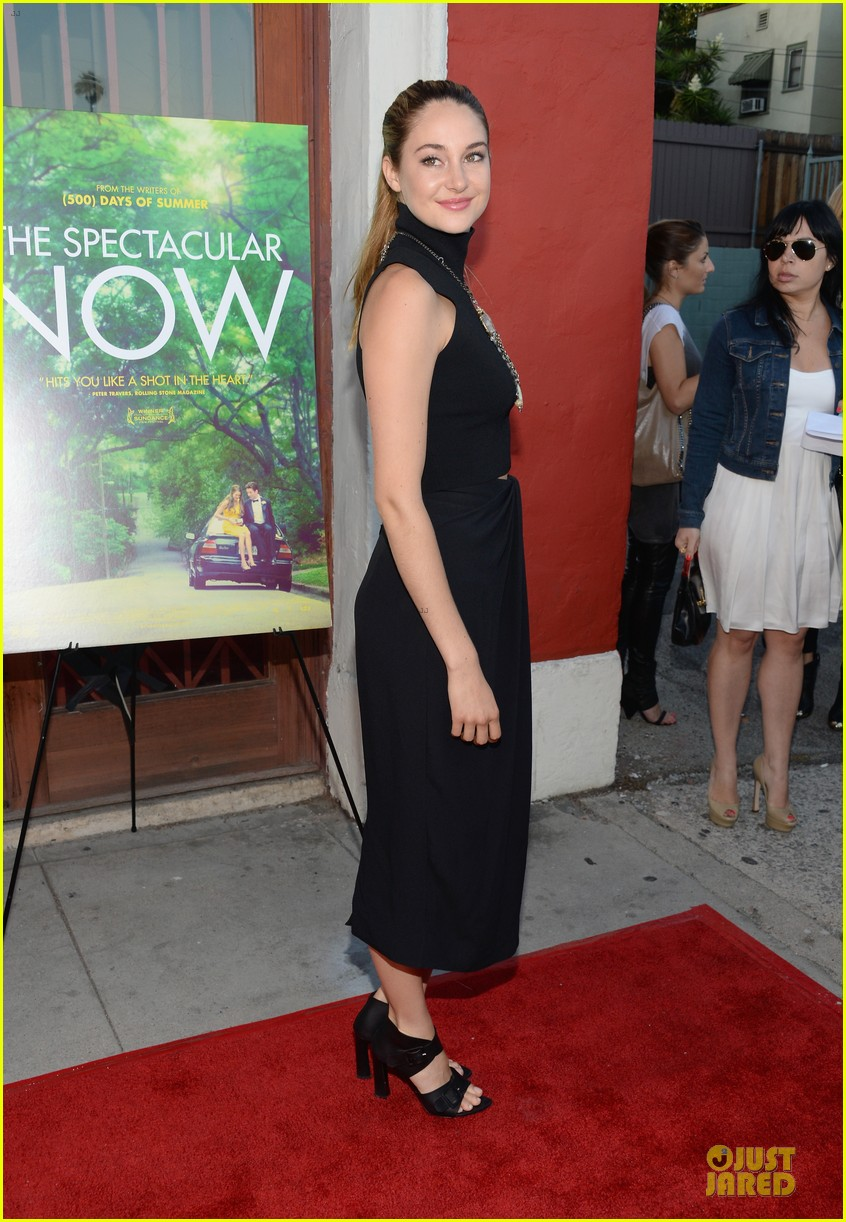shailene woodley miles teller spectacular now la screening 20