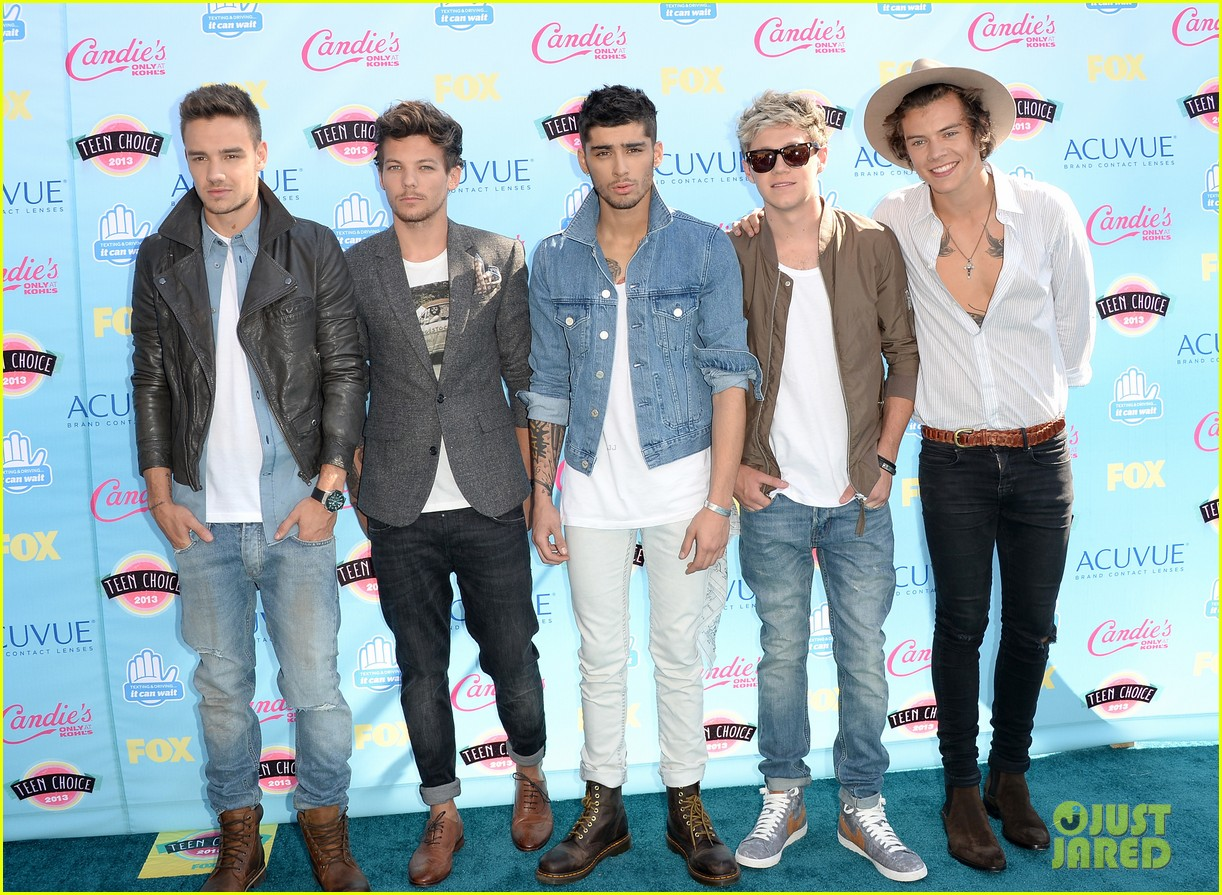 one direction teen choice awards 2013 red carpet 01