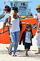 christina aguilera hits the beach with jordan bratman max 32