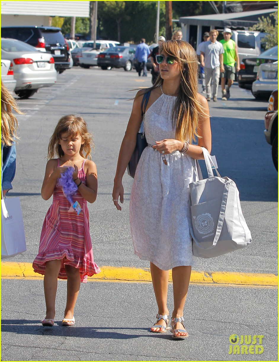 jessica alba cash warren separate parental outings 10