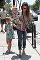 jessica alba honor haven wear matching outfits 14