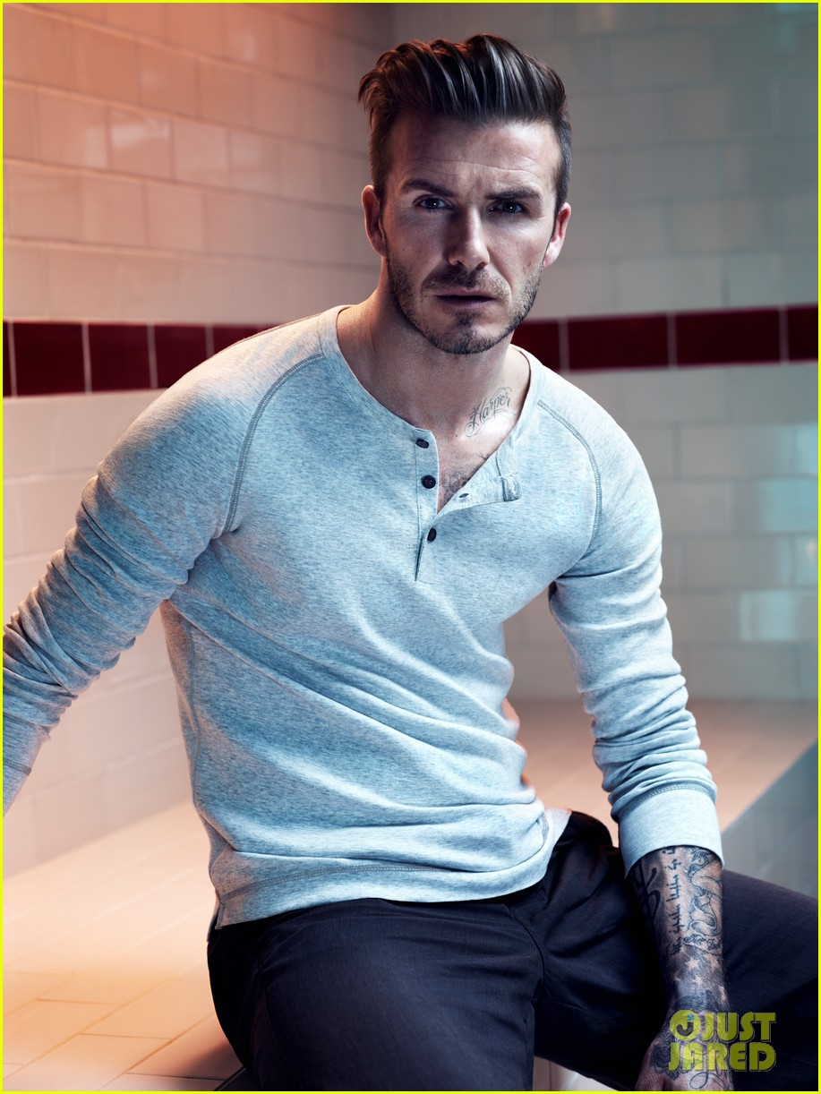 david beckham shirtless hm campaign pictures 02