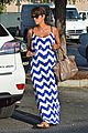 halle berry shows off large baby bump at bristol farms 16