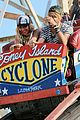 beyonce coney island cyclone rider for music video shoot 01