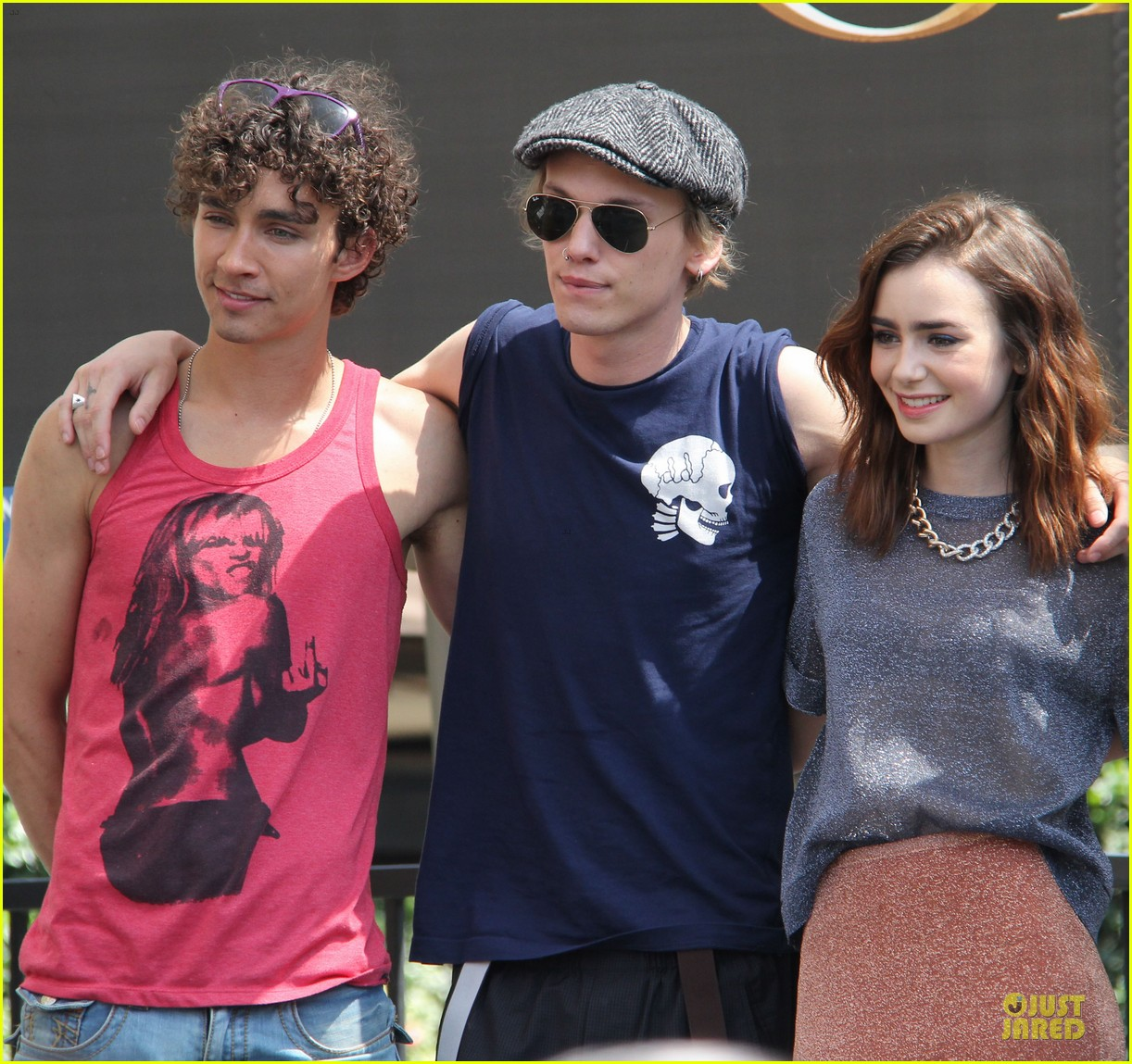 lily collins jamie campbell bower bower are very close despite split 252929811