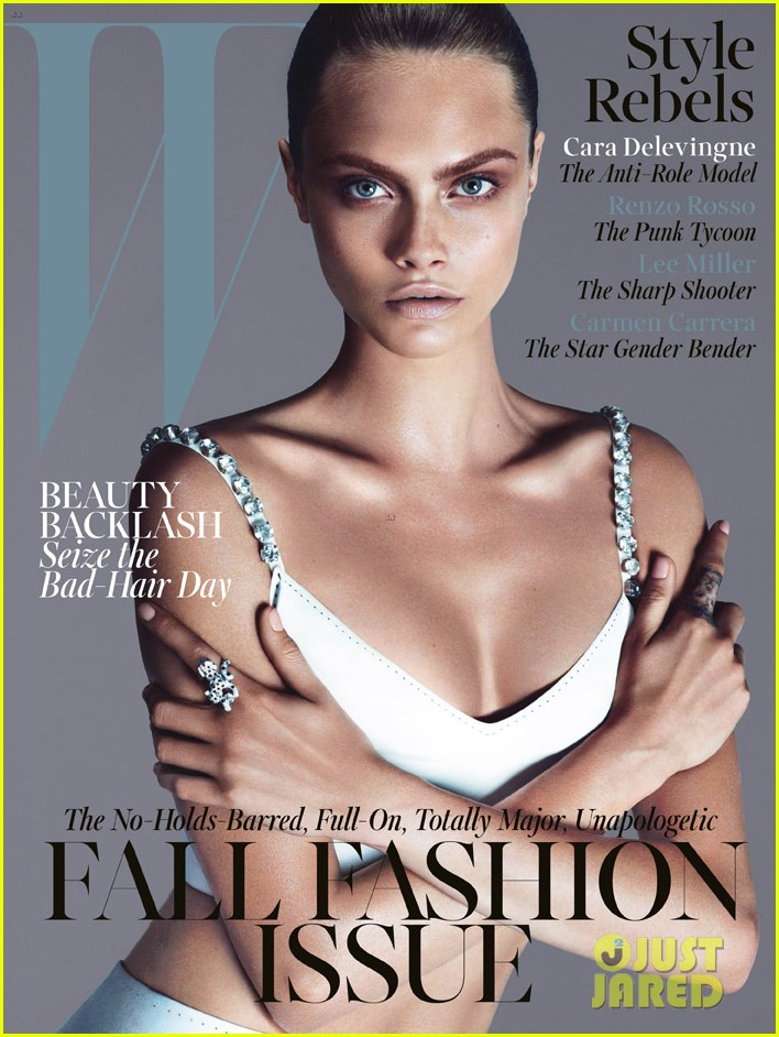 cara delevingne covers w magazine september 2013