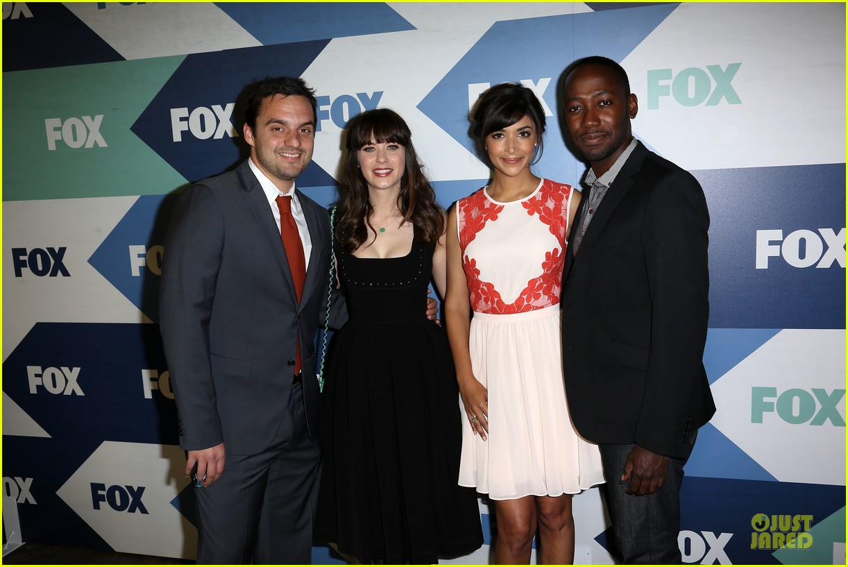 zooey deschanel new girl cast fox tca summer party 022922037