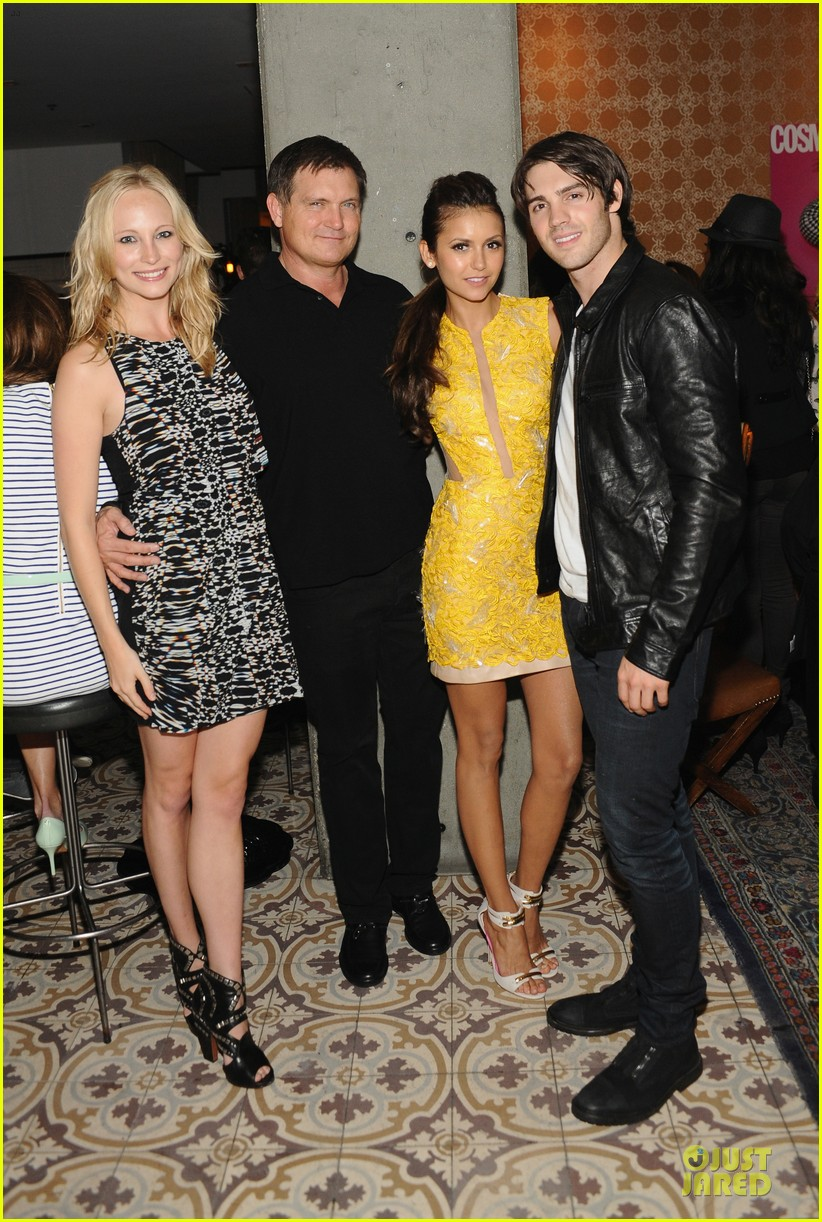nina dobrev julianne hough cosmopolitan summer bash babes 03