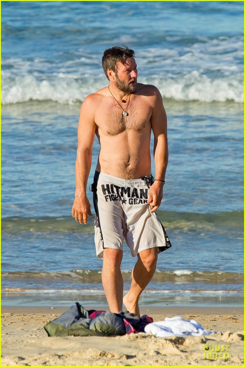joel edgerton shirtless hitman after exodus news 19