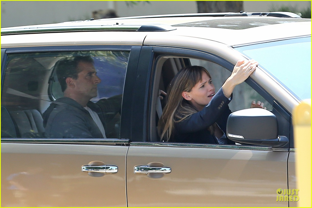 jennifer garner alexander set with steve carell 132933714