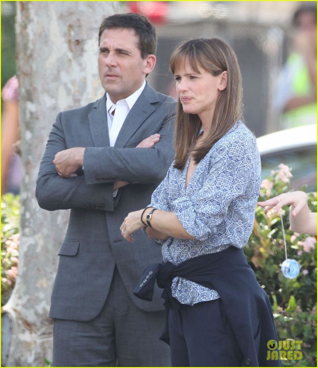 jennifer garner steve carell family freakout for alexander 042938742