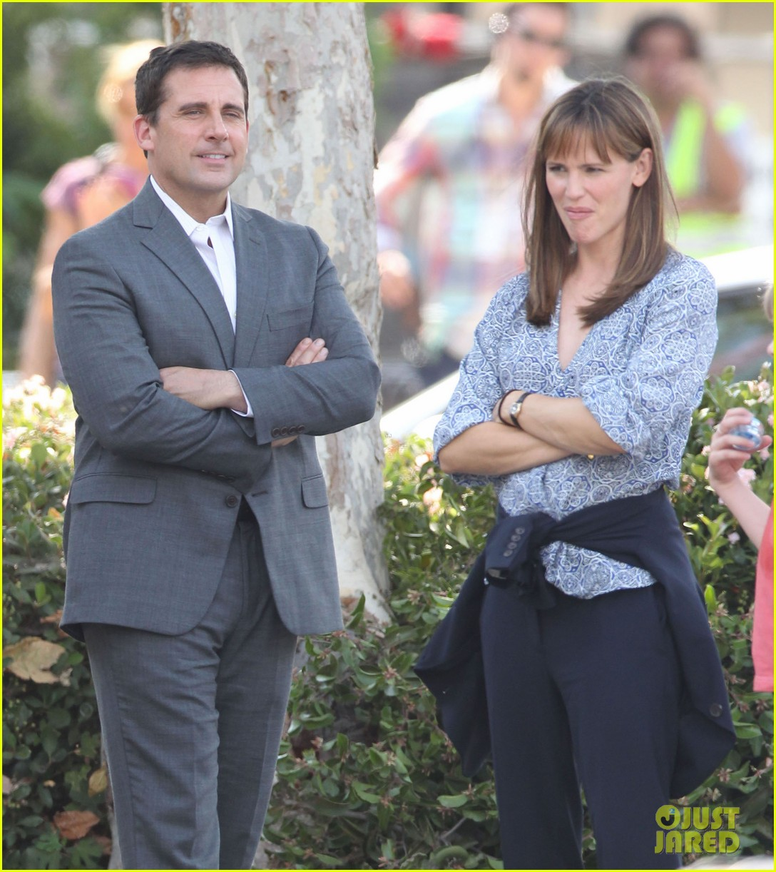 jennifer garner steve carell family freakout for alexander 12