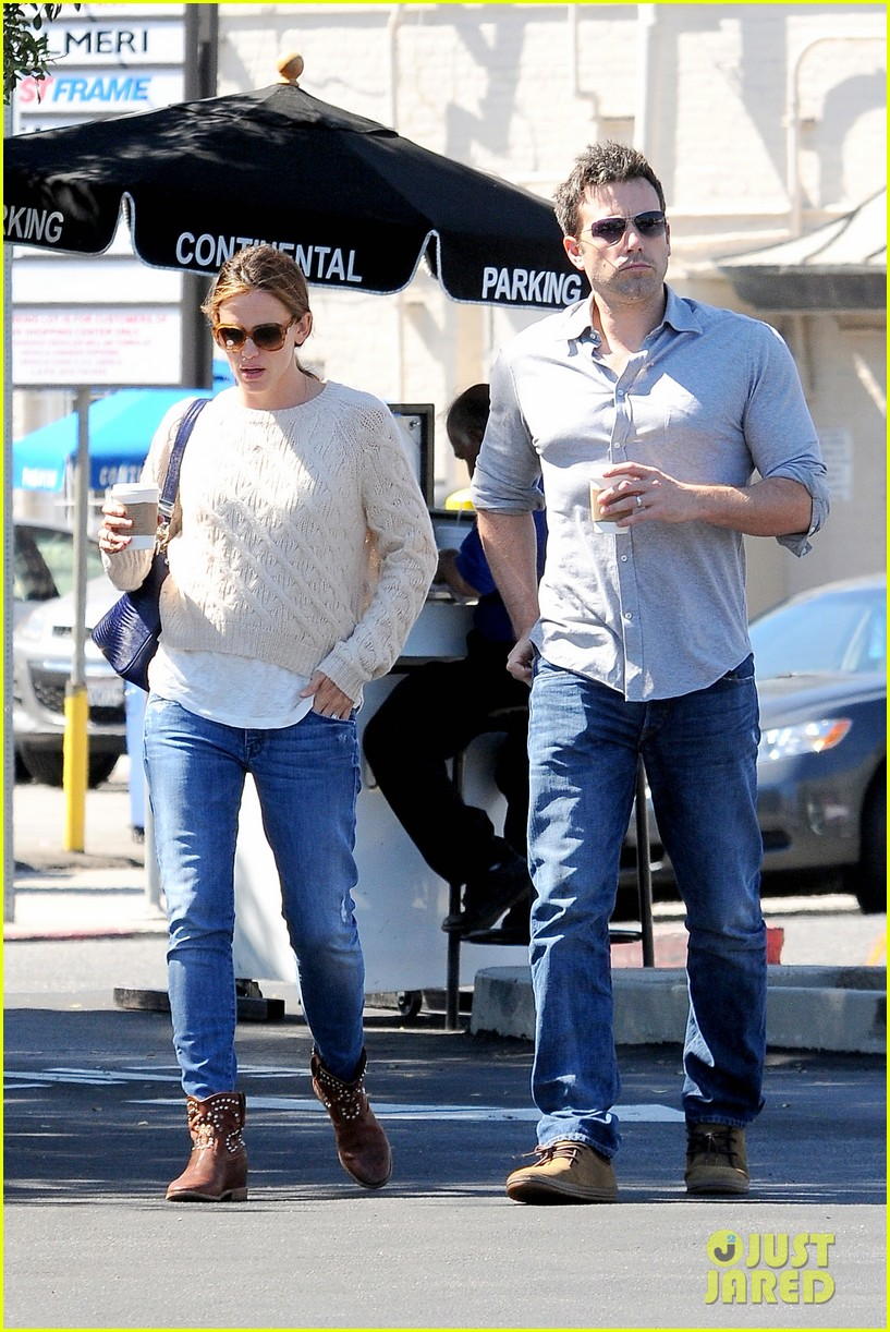 jennifer garner ben affleck share romantic weekend lunch 202932307