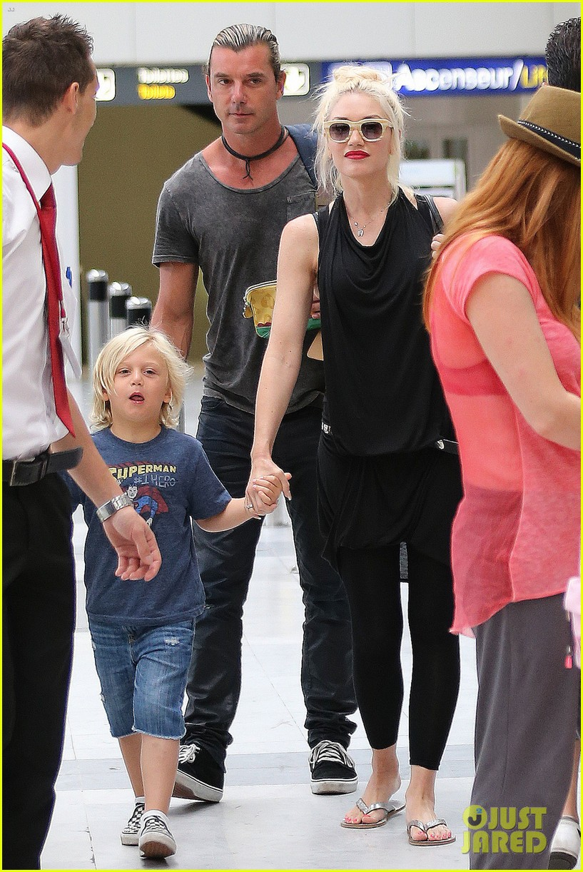 gwen stefani gavin rossdale back after paris vacation 18