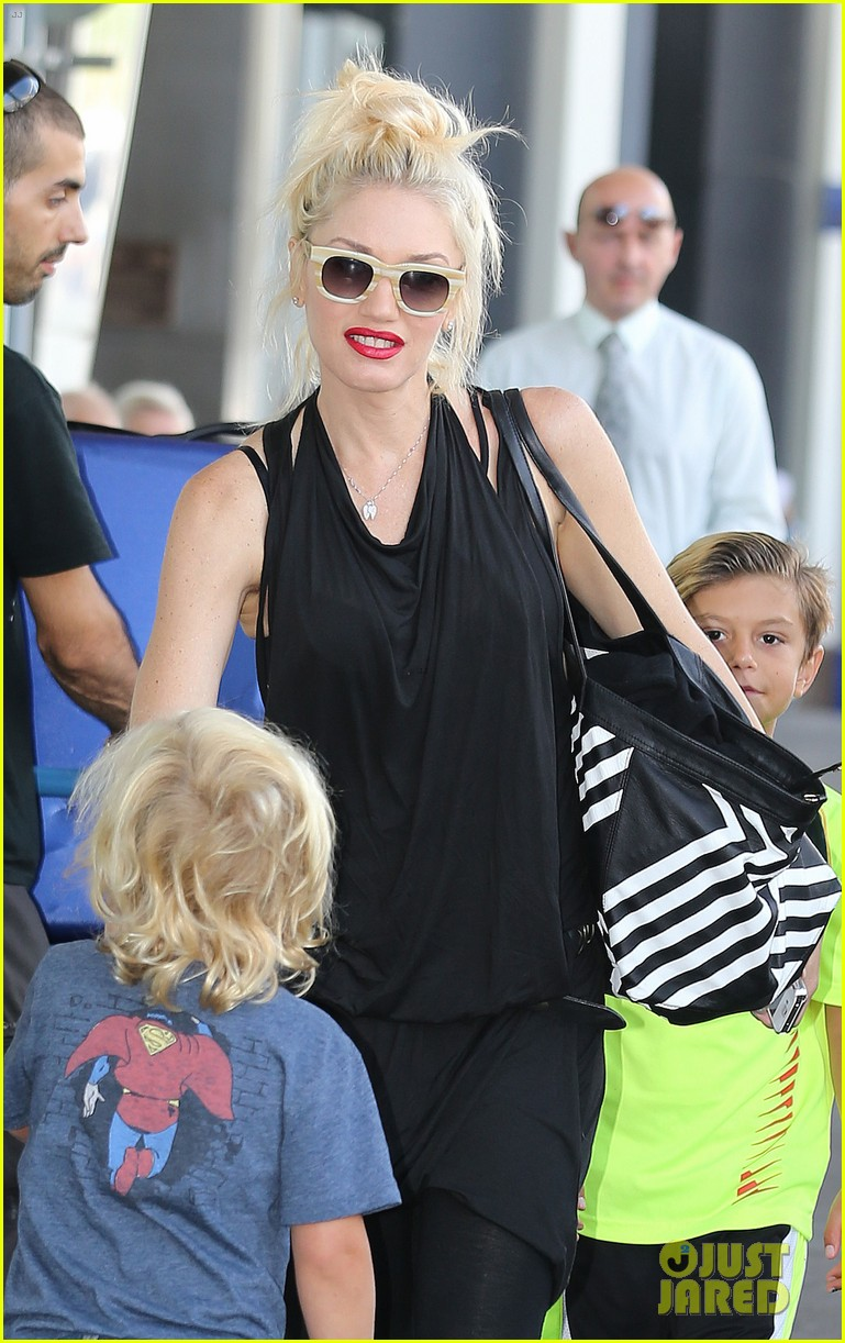 gwen stefani gavin rossdale back after paris vacation 21
