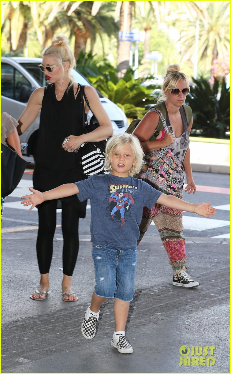 gwen stefani gavin rossdale back after paris vacation 25