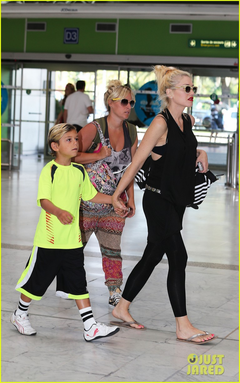 gwen stefani gavin rossdale back after paris vacation 27