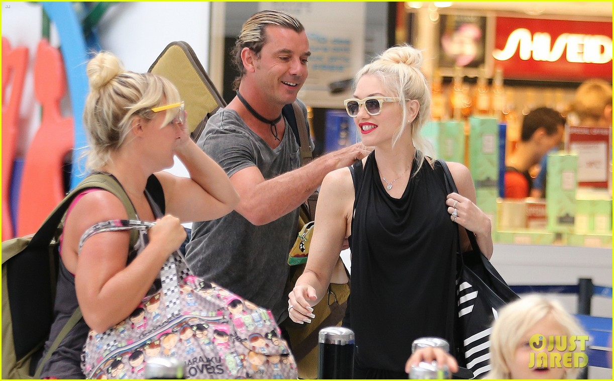 gwen stefani gavin rossdale back after paris vacation 28