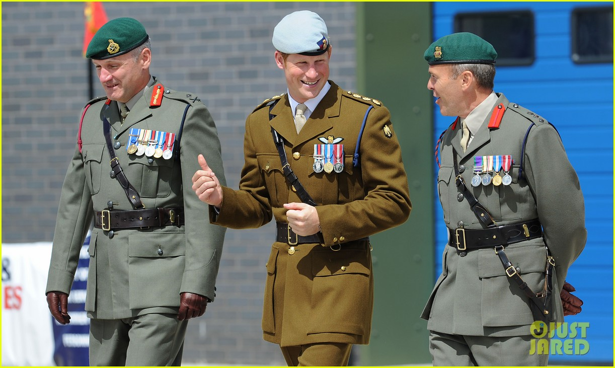 prince harry opens royal marine center in devenport 042922111