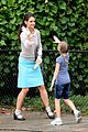 katie holmes plays hopscotch on miss meadows set 07