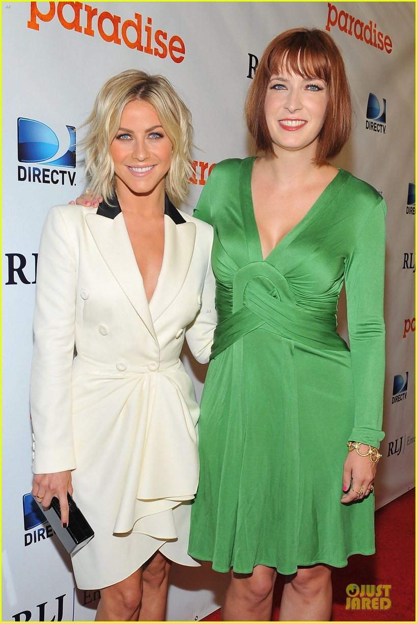 julianne hough paradise hollywood premiere with diablo cody 02