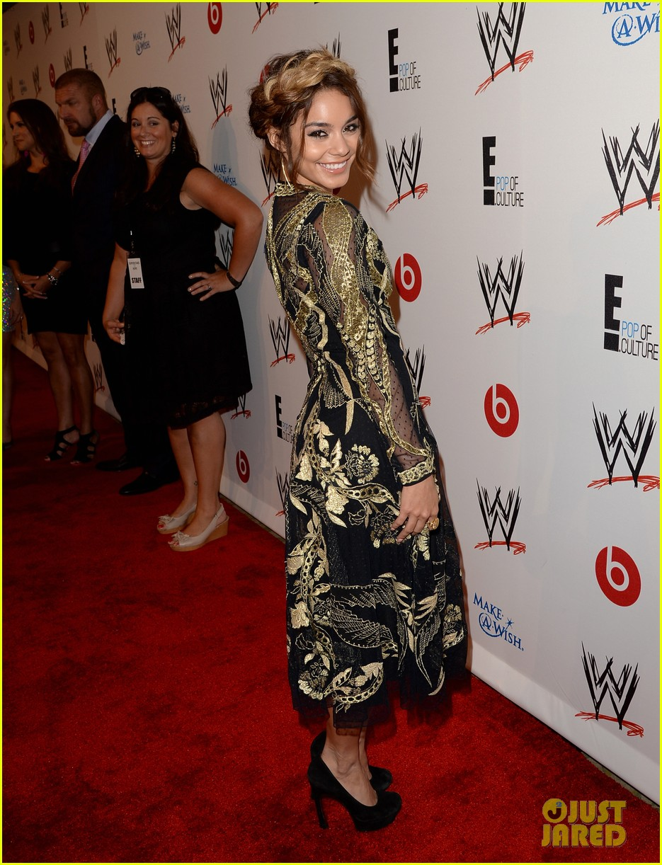 vanessa hudgens wwe superstars for hope event 09