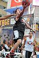 josh hutcherson james lafferty sbnn basketball game 07