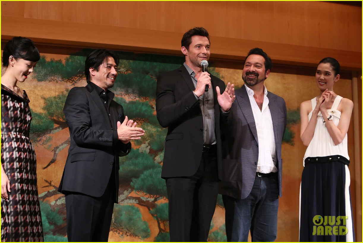 hugh jackman wolverine japan press conference 01