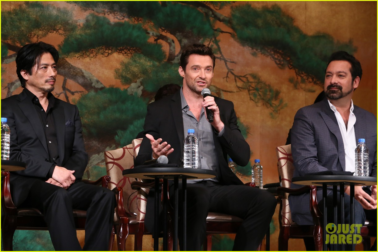 hugh jackman wolverine japan press conference 03