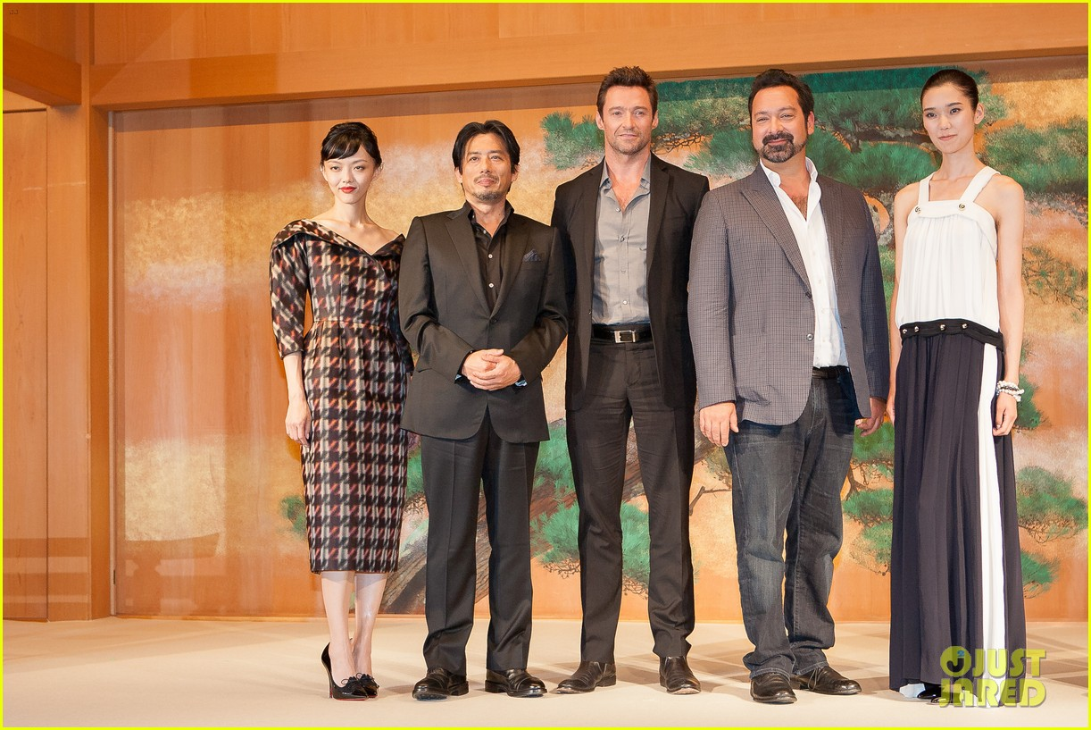 hugh jackman wolverine japan press conference 042939946
