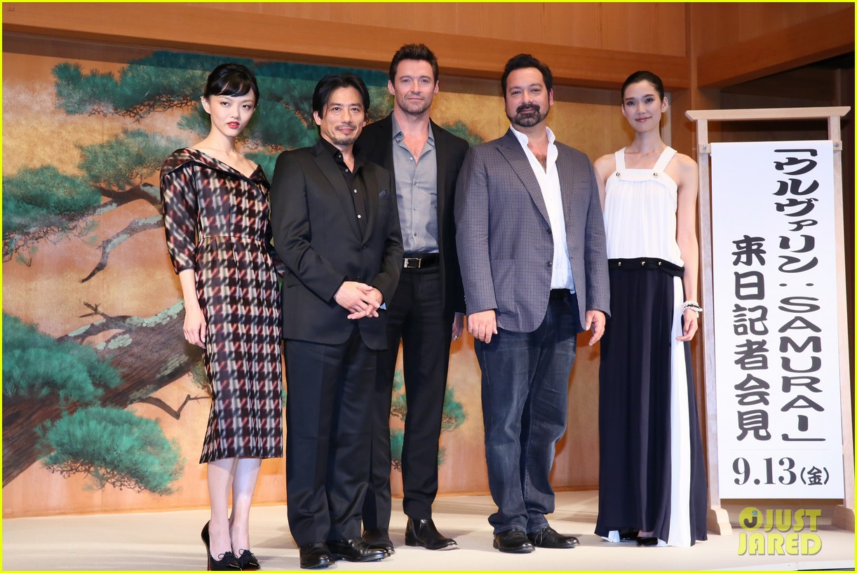 hugh jackman wolverine japan press conference 09