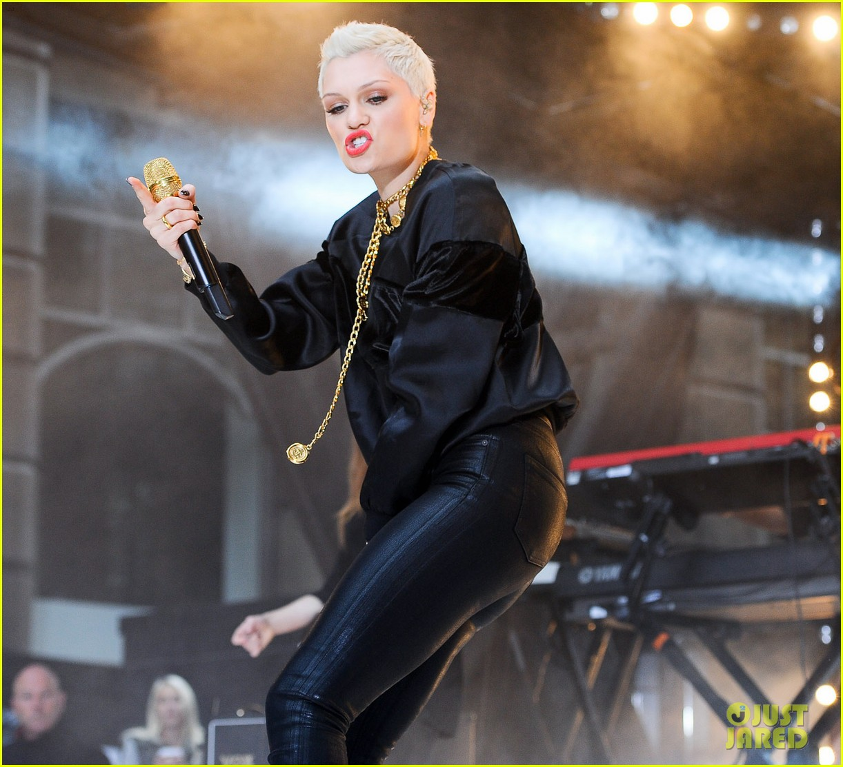 jessie j wild price tag live on sunrise 082936057