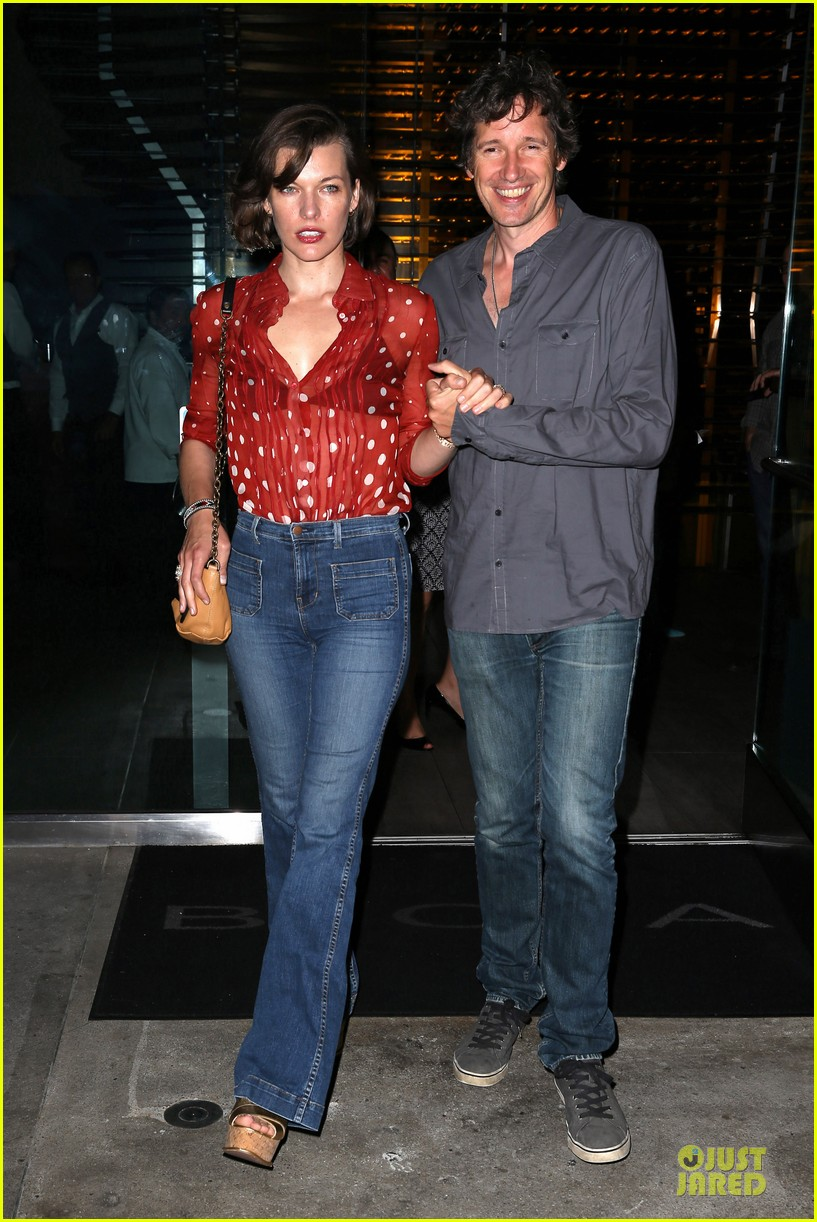 milla jovovich sheer red for paul ws anderson 09