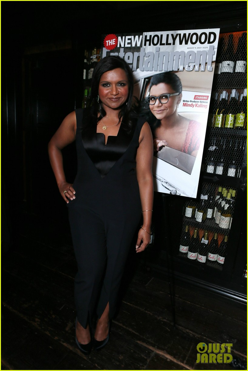 mindy kaling entertainment weekly new hollywood dinner 01