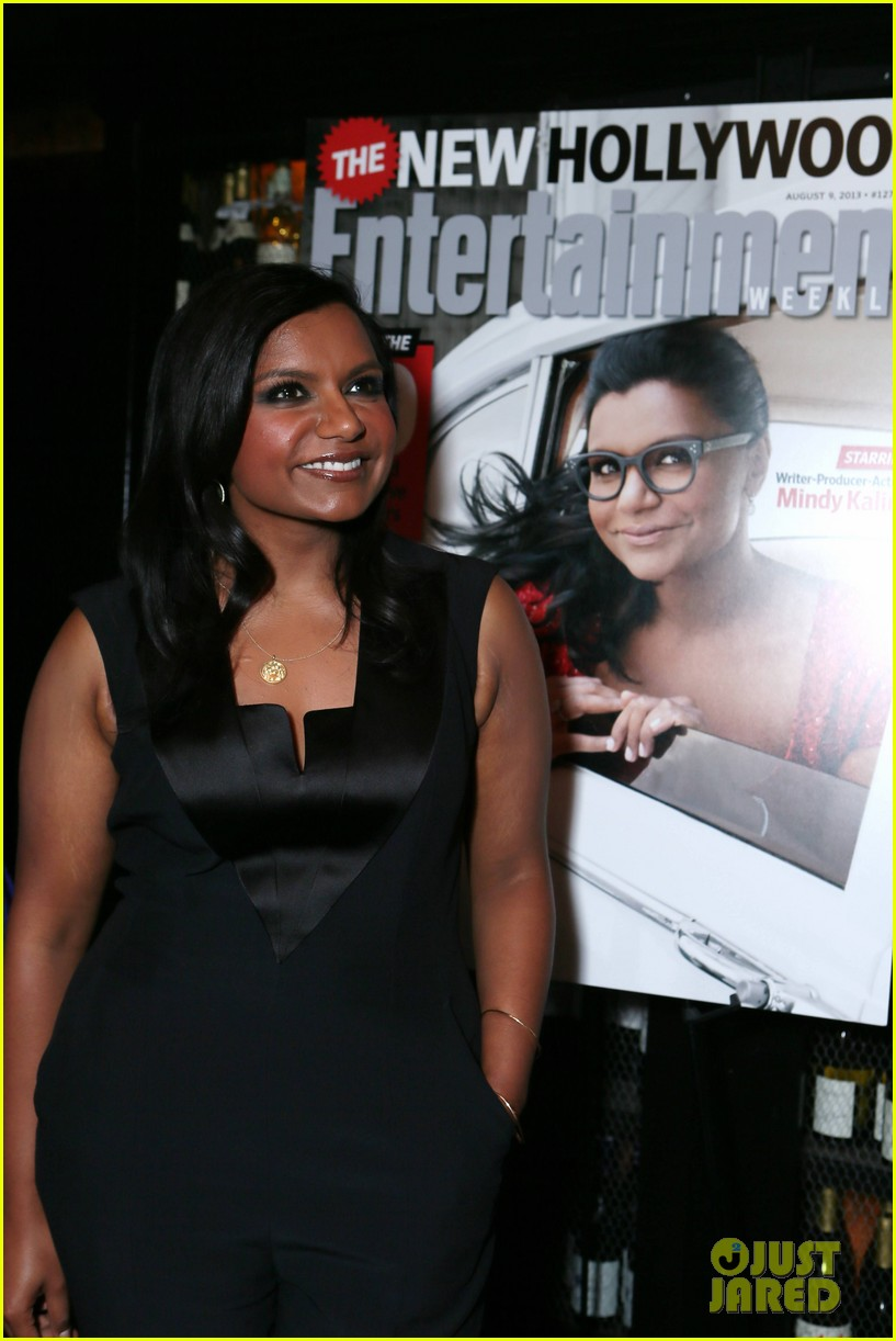 mindy kaling entertainment weekly new hollywood dinner 10