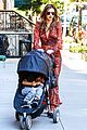 miranda kerr sleepy flynn visit friends 09