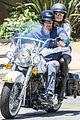 heidi klum martin kirsten motorcycle ride without kids 18