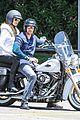 heidi klum martin kirsten motorcycle ride without kids 19