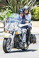 heidi klum martin kirsten motorcycle ride without kids 23