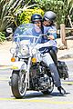 heidi klum martin kirsten motorcycle ride without kids 25
