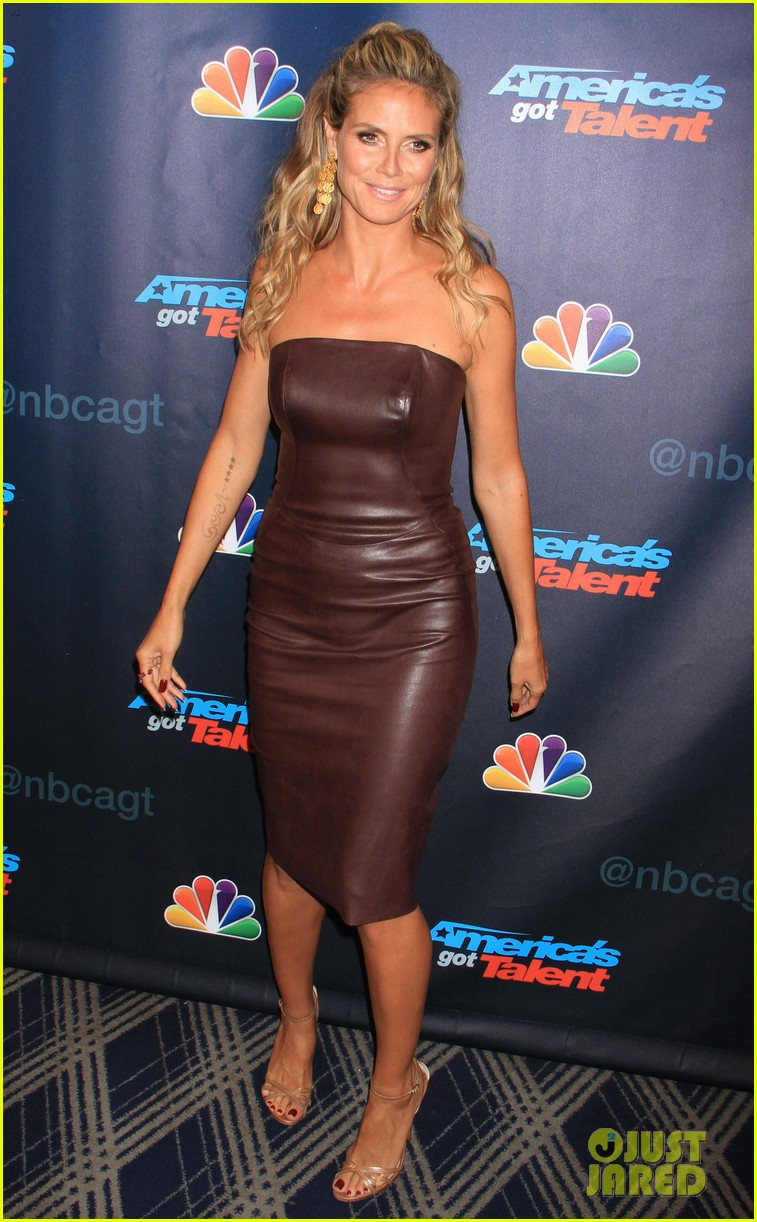 heidi klum mel b americas got talent sixth results show 08