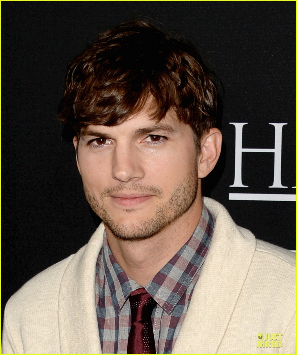 ashton kutcher ahna oreilly jobs la screening 182929781